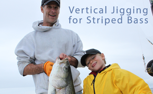Vertical Jigging for Striped Bass
